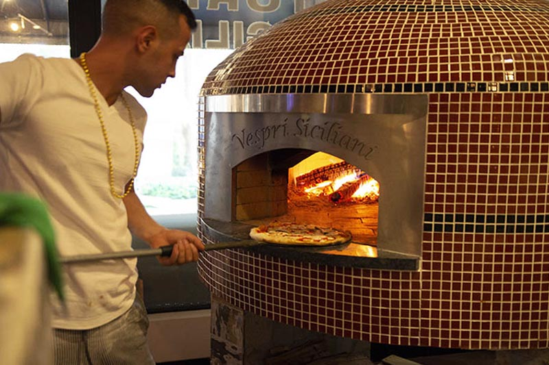 Traditional Italian Woodfired Pizza Boca Raton