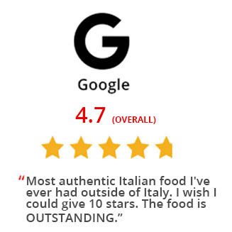 Vespri Siciliani Google Reviews